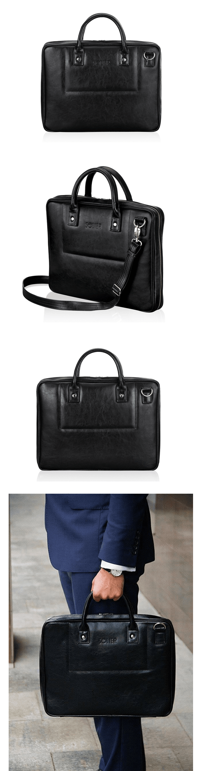 мужские сумки solier