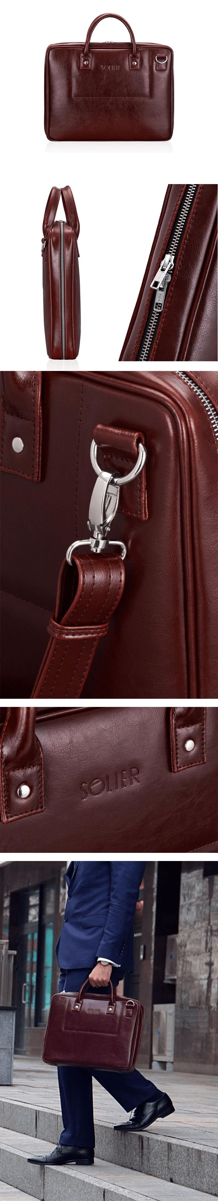 элегантная мужская сумка