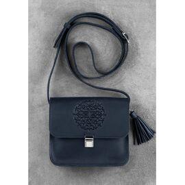 Дизайнерская сумка кожаная ночное небо Бохо- Лилу, фото