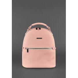 Женский кожаный рюкзак розовый KYLIE, фото