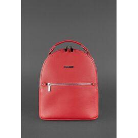 Женский кожаный рюкзак красный KYLIE, фото