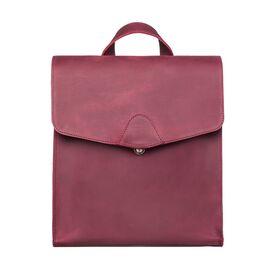 Кожаный рюкзак женский виноградный, фото