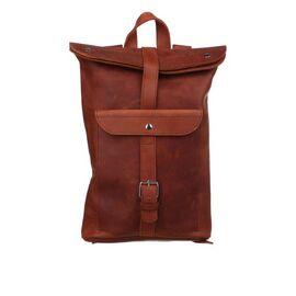 Кожаный рюкзак красный Рио, фото