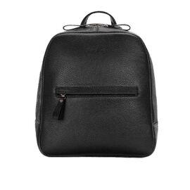 Кожаный рюкзак женский черный BP3 (11-00), фото