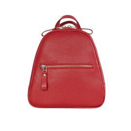 Кожаный рюкзак женский красный BPM3-05 (18-00), фото