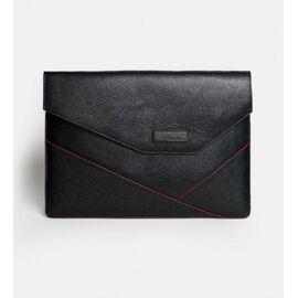 """Кожаная папка под MacBook (Макбук) черная 13"""" MC13 (11-00)K, фото"""