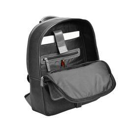 """Кожаный рюкзак мужской под ноутбук 13"""" черный BP2 (11-31), фото"""
