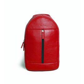 """Рюкзак мужской кожаный для ноутбука красный 13"""" BP1 (15-00), фото"""