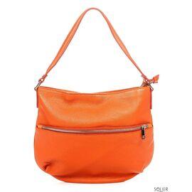 Итальянская женская кожаная сумка 6947_orange, фото