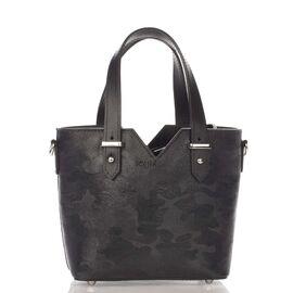 Итальянский женский кожаный клатч 8671_black кожаный Черный, фото