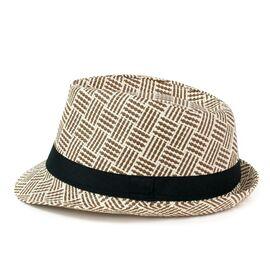 Шляпа Федора Classic в клетку_1, фото