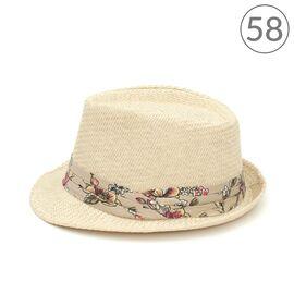 Шляпа Федора светлый принт, фото