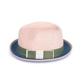 Шляпа Канотье синяя, фото