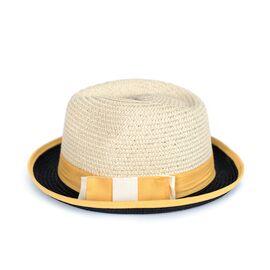 Шляпа Канотье Желтая, фото