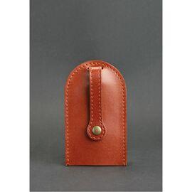 Кожаная ключница 2.0 светло-коричневая, фото