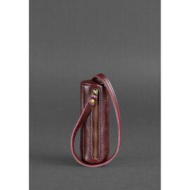 Женская кожаная ключница 3.0 Тубус Марсала, фото