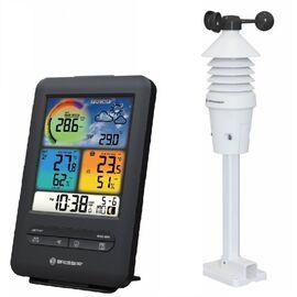 Метеостанция Bresser WIFI Colour 3-in-1 Wind Sensor черный, фото