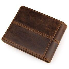 Кошелек мужской Vintage 14225 коричневый, фото