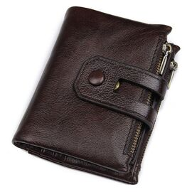 Кошелек Vintage 14602 кожаный Коричневый, Коричневый, фото