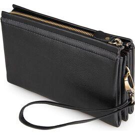 Мужской клатч кожаны Vintage 14455 черный, фото