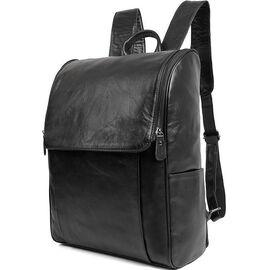Рюкзак Vintage 14523 кожаный черный, фото