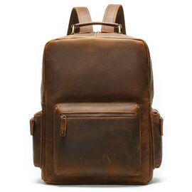 Рюкзак винтажный для ноутбука Vintage 14712 коричневый, фото