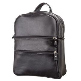 Рюкзак женский SHVIGEL 15304 кожаный черный, фото