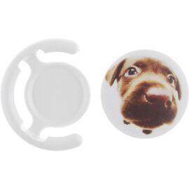 Держатель для телефона TOTO Popsocket plastic BNS-C 887 Dog (White), фото