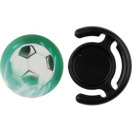 Держатель для телефона TOTO Popsocket plastic BNS 30 Football Black, фото