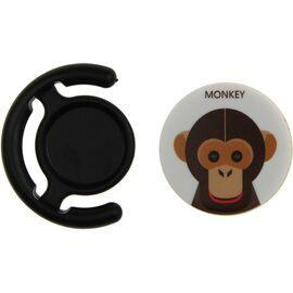 Держатель для телефона TOTO Popsocket plastic BNS 110 Chimpanzee Black, фото