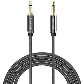 Кабель Tronsmart SC301 1.2m 3.5mm Premium Stereo AUX Audio Cable Grey, фото