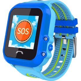 Смарт-часы UWatch DF27 Kid waterproof smart watch Blue, фото