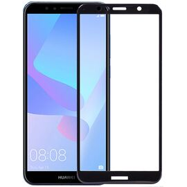 Защитное стекло TOTO 5D Cold Carving Tempered Glass Huawei Y6 Prime 2018 Black, фото