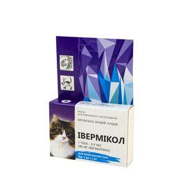 Ивермикол — капли от блох для кошек от 2,5 кг до 7,5 кг, фото