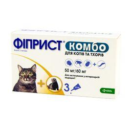 Fiprist (Фиприст) Комбо — капли от блох и клещей для кошек, фото