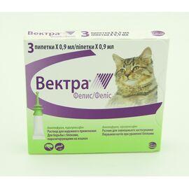 Вектра Фелис для кошек 0,9 мл капли Сева, фото