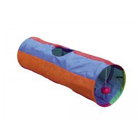 Лежанка для котов Туннель Нобби 67494 d25*86,5см, фото