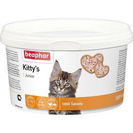 Kitty's Junior — лакомство с витаминами для котят 1000 таблеток, фото