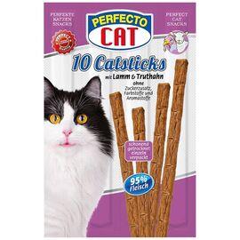 Палочки Perfecto Cat Catsticks индейка\ягненок 10шт, фото