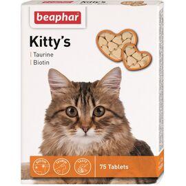 Kitty's +Taurin +Biotin — Лакомство с таурином и биотином 75 таблеток, фото