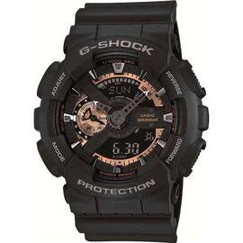 Часы наручные Casio G-Shock Япония 20ATM Кварцевые (Батарейка) - GA-110RG-1AER, фото