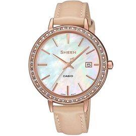 Часы наручные Casio Sheen Япония 5ATM Кварцевые (Батарейка) - SHE-4052PGL-7BUEF, фото