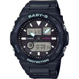 Часы наручные Casio Baby-G Япония 10ATM Кварцевые (Батарейка) - BAX-100-1AER, фото