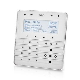 Клавиатура сенсорная Satel INT-KSG-SSW, фото