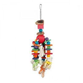 Игрушка для птиц Trixie подвесная 35 см (натуральные материалы), фото