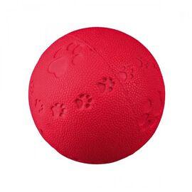 Игрушка для собак Trixie Мяч с пищалкой d:6 см (резина, цвета в ассортименте), фото