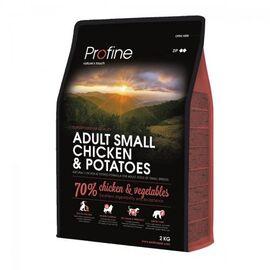 Сухой корм для взрослых собак мелких пород (весом до 10 кг) Profine Adult Small 2 кг (курица), фото