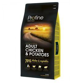 Сухой корм для взрослых собак всех пород Profine Adult Chicken 15 кг (курица), фото