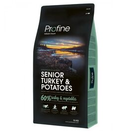 Сухой корм для пожилых собак всех пород Profine Senior Turkey 15 кг (индейка), фото