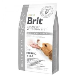 Brit GF VetDiets Dog Mobility 2 kg для суставов с селедкой, лососем, горохом и гречкой, фото